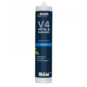 Bostik V4 Metal and Masonry Silicone